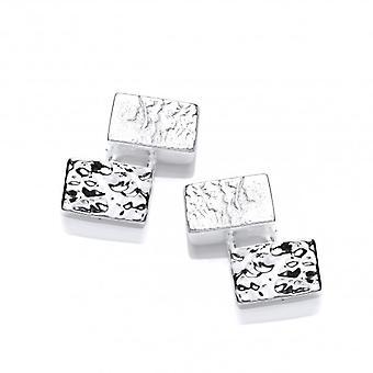Кавендиш французский серебряные серьги Oblongs
