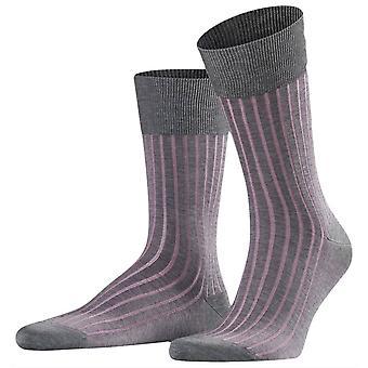 Falke tieň Midcalf ponožky-sivá/ružová ruža