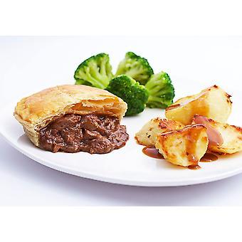 Country Range Frozen Steak and Kidney Puff Pies