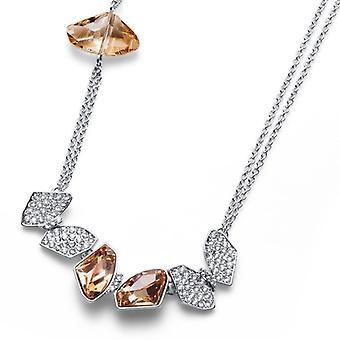Oliver Weber Collier Galactic Rhodium, Golden Shadow Necklace