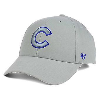 Chicago Cubs MLB 47 Brand Gray Pop Adjustable Hat