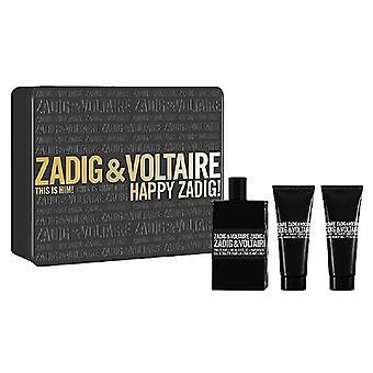 Geschenkset Zadig & Voltaire, das ist ihm Edt 50 ml + SG 50 ml + SG 50 ml