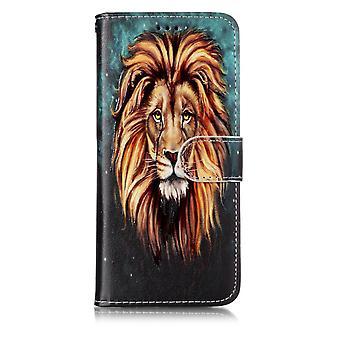 Samsung Galaxy S9 G960 Plånboksfodral - Fierce Lion