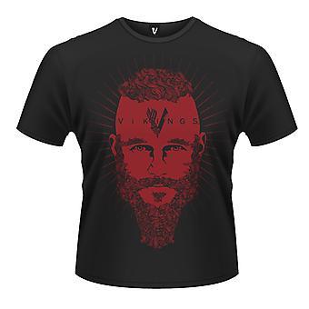 Vikingos Ragnar cara t-shirt
