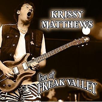 Krissy Matthews - Live at Freak Valley [CD] USA import