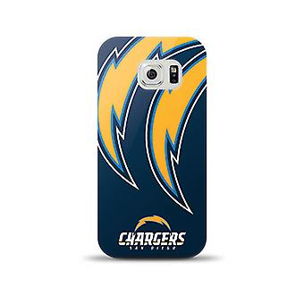 Mizco Licensed NFL TPU Gel Case for Samsung Galaxy S6 - San Diego Chargers