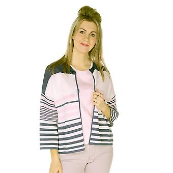 EMRECO Cardigan Ashley White With Pink And Navy