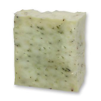 Florex Kaltgerührte schapen melk SOAP - citroen - frisse krachtige citroenachtig geur stimuleert de zintuigen 150 g