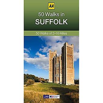 50 spacery w Suffolk (seria spacery po 50 AA)