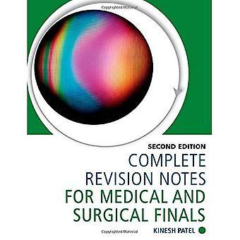 Notas de revisão completa para os exames médicos e cirúrgicos