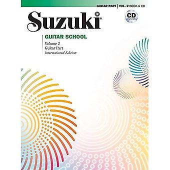 Suzuki gitaar School, vol. 2: Gitaar deel, boek & CD