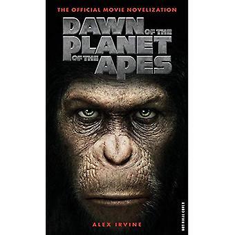 Dawn of Planet of the Apes - oficjalny film nowelizacji