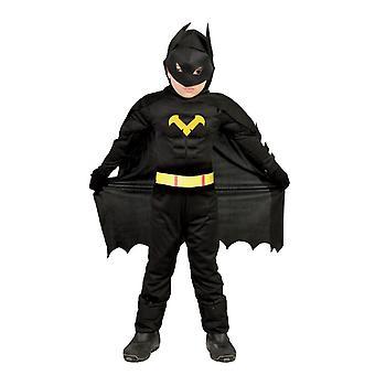 Boys Bat Superhero Fancy Dress Costume