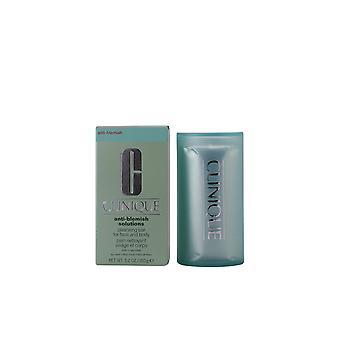 Clinique anti-blemish Solutions Cleansing Bar Face & 150 Gr de corps pour les femmes