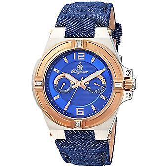 Affichage analogique quartz Burgmeister-dames et bleu bracelet en tissu et BM 220-933 toile