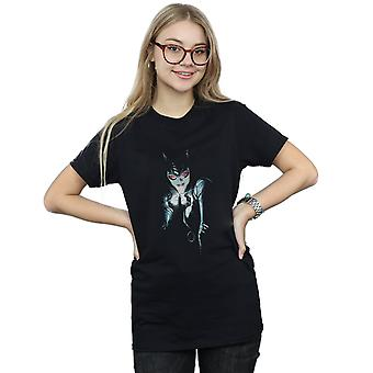 باتمان أليكس روس المرأة القطة صديقها دي سي كوميكس المرأة تناسب القميص