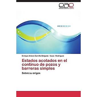 Estados Acotados En El Continuo de Pozos y Barreras Simples av Carrillo Delgado Enrique Arturo