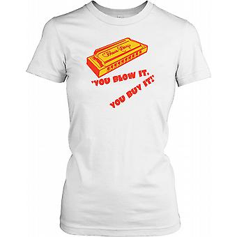 Munspel - du blåser det du köper det damer T Shirt