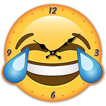 Puckator Emotive LOL Shaped Picture Clock