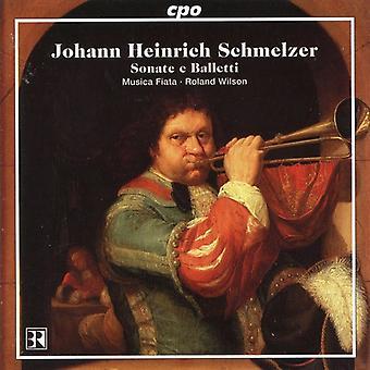 J.H. Schmelzer - Schmelzer: Sonate E Balletti [CD] USA import