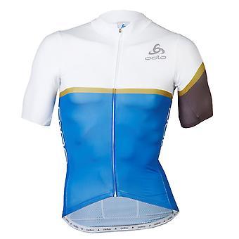Odlo Mens Kamikaze Cycling Jersey Short Sleeve Performance Shirt
