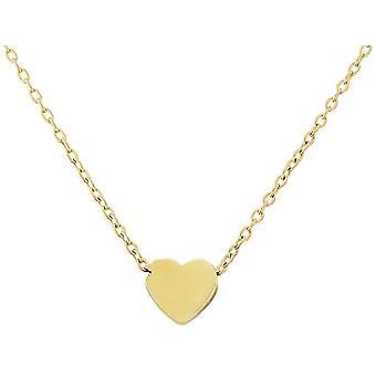 Mark Milton Heart halsband-gult guld