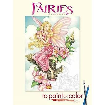 Fairies to Paint or Color by Darcy May - 9780486465449 Book