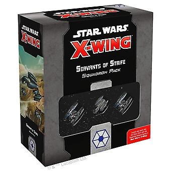 Star Wars X-Wing 2nd Edition Servants of Strife Squadron
