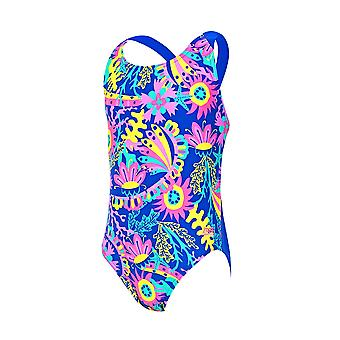 Zoggs Ocean Play Flyback Swimwear For Girls