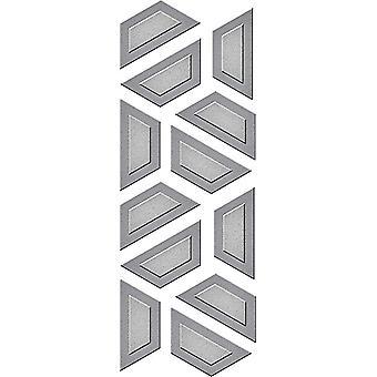 スペルバインダーハーフヘックスキルトエッチングダイD-Lites (S2-274)