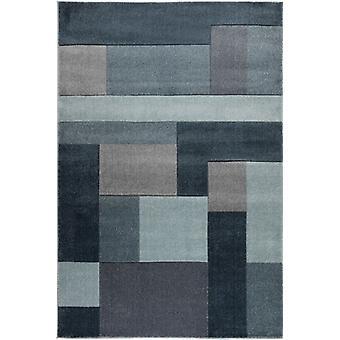 Hand geschnitzt Cosmos Denim blau Rechteck Teppiche moderne Teppiche