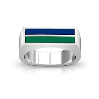 Florida Gulf Coast University Ring In Sterling Silver Design by BIXLER