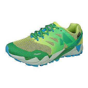 Merrell Agility Peak Flex 2 GTX Womens Trail Running Trainers / Shoes - Lime