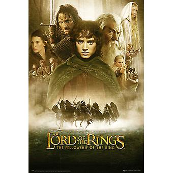Lord Of The Rings Fellowship Of The Ring One Sheet Maxi Poster 61x91.5cm