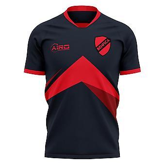 2019-2020 Benfica afstand concept voetbal shirt-volwassen lange mouw