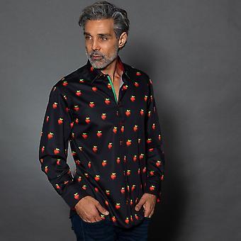 CLAUDIO LUGLI Strawberry Print Shirt