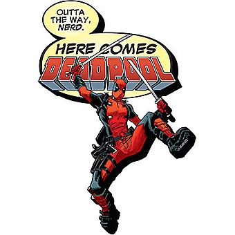 Magnet - Marvel - Deadpool Here Comes Funky Chunky New Toys Licensed 95402