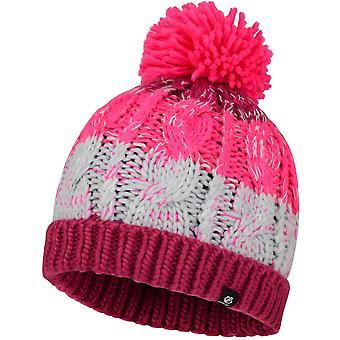 Dare 2b Girls Lively Fleece Forrado Bobble Gorro de Gorro Caliente