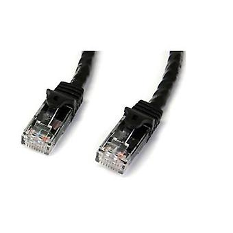 Startech 5M Black Snagless Cat6 Utp Patch Cable