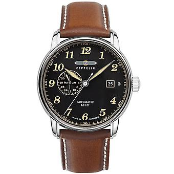 Zeppelin lz-127 Automatic Automatic Analog Men's Watch with Cowskin Bracelet 8668-2