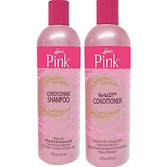 Luster's Pink Conditioning Shampoo & RevitaLEX Conditioner 591ml