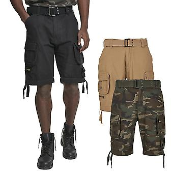 布兰迪特野蛮复古工人货物军队户外短裤
