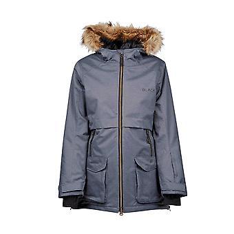 Dublin Negro Wendy chaqueta impermeable para mujer - negro