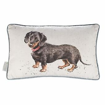 Wrendale Designs Dachshund Cushion | Gifts From Handpicked