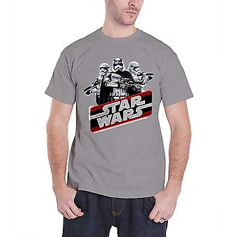 Star Wars Mens T Shirt Grey The Force Awakens Captain Phasma Official