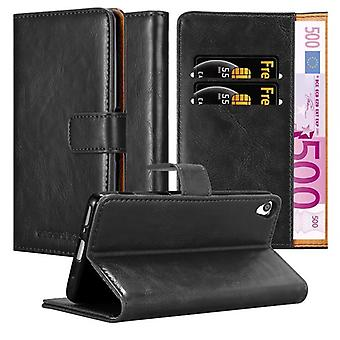 Cadorabo Case för Sony Xperia XA fodral Cover-telefon fodral med magnetstängning, stand-funktion och kort Case-fodral fodral fodral fodral