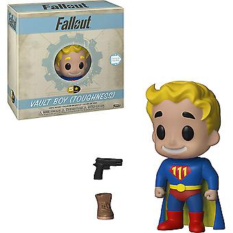 Fallout Vault Boy (Toughness) 5-Star Vinyl Figure