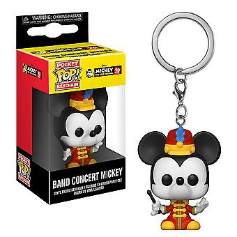 Mickey Mouse 90th Band Concert Mickey Pop! Keychain