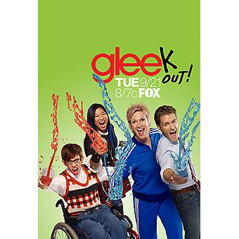 Glee Poster (Jane Lynch) Single Sided (2010) Original Television Poster