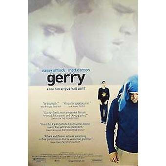 جيري (مزدوجة من جانب العادية) ملصق السينما الأصلي
